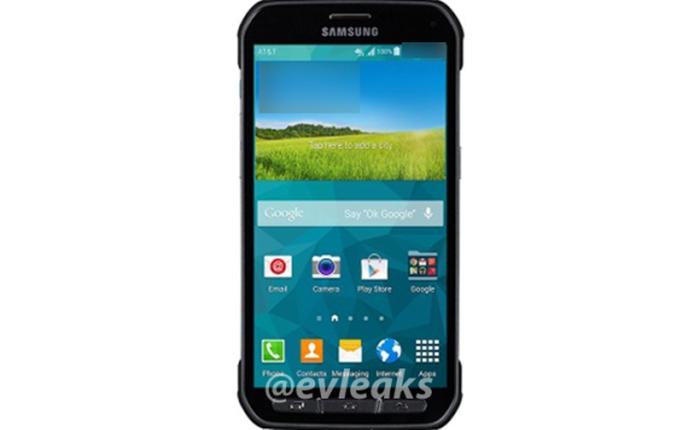 Lộ ảnh báo chí của Galaxy S5 Active