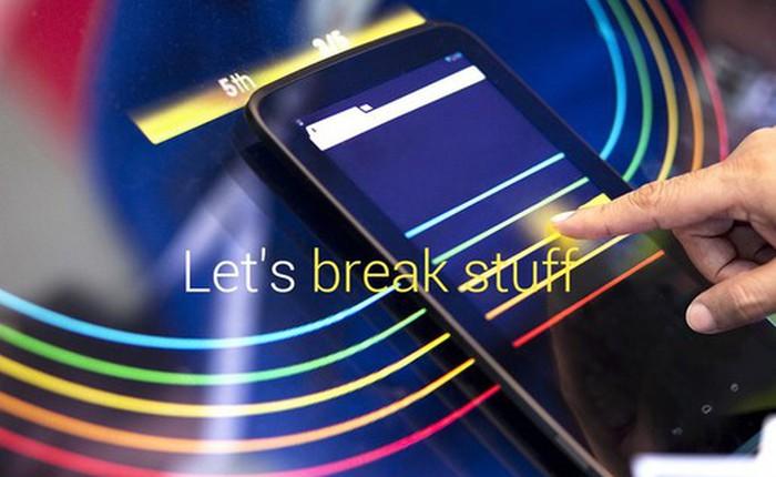 Rò rỉ hình ảnh Nexus 8 trước sự kiện Google I/O