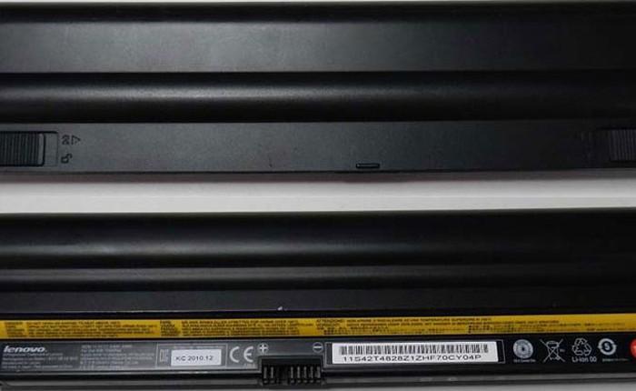 Laptop Lenovo ở Việt Nam cũng bị thu hồi vì nguy cơ cháy pin