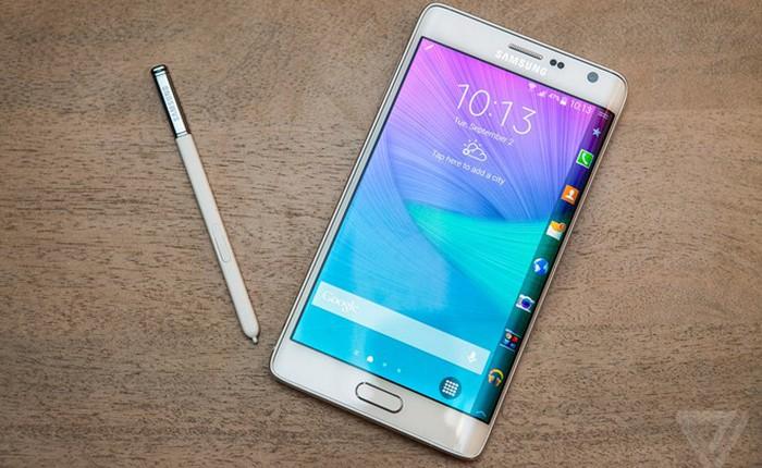 Galaxy Note Edge và những smartphone dị nhất hiện nay