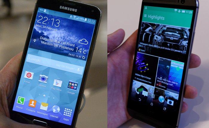 HTC One M8 đọ tài cùng Galaxy S5