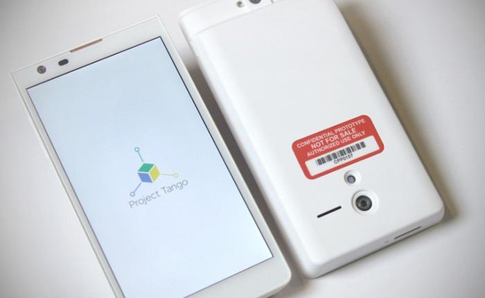 Project Tango: Dự án smartphone đầy tham vọng của Google