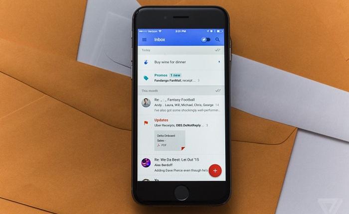 Trải nghiệm Google Inbox: ứng dụng email cho Android, iOS và web mới của Google