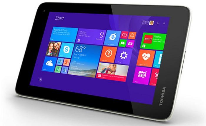 """[IFA 2014] Toshiba ra mắt MTB Encore Mini 7"""" chạy Windows 8.1: CPU Atom 4 nhân, giá 120 USD"""