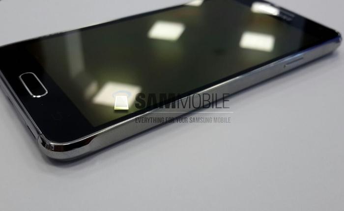 Đối thủ iPhone 6, Galaxy Alpha viền kim loại lộ ảnh chi tiết