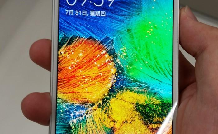 Xuất hiện thêm hình ảnh chi tiết của Galaxy Alpha: khung nhôm, màn hình 4,7 inch