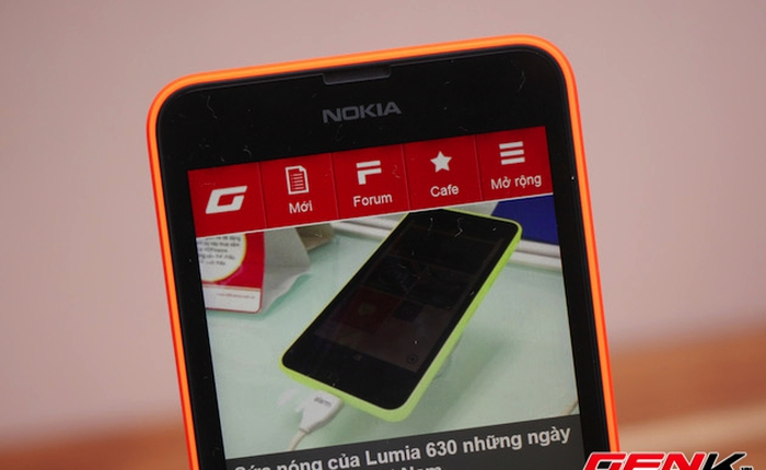Đánh giá Nokia Lumia 630 - Giá rẻ, thiết kế trẻ trung, còn nhiều sạn nhỏ