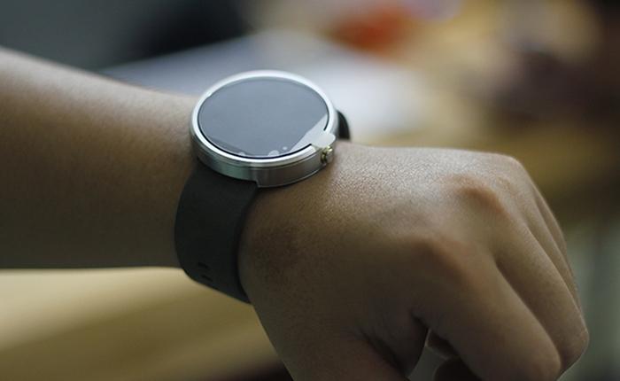 Trên tay Moto 360, Chiếc Smartwatch đáng mơ ước