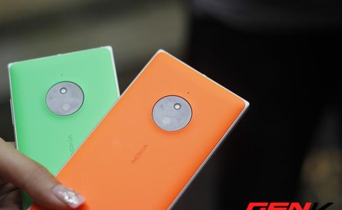 Lumia 830 ra mắt tại Việt Nam, giá 7,99 triệu đồng, bán ra cuối tháng này