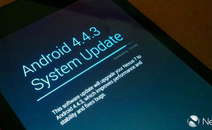 Người dùng phàn nàn thiết bị Nexus gặp lỗi khi nâng cấp Android 4.4.3