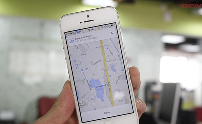 Dùng thử Google Maps mới trên iOS và Android: Xem offline tốt, tốc độ tải nhanh