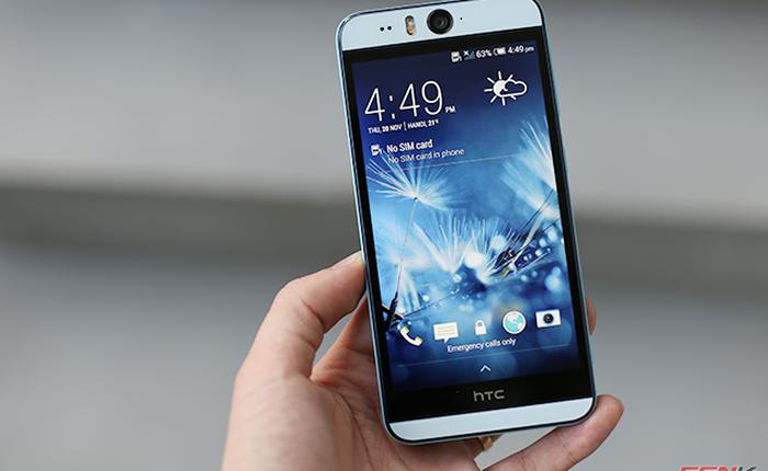 """Trên tay HTC Desire Eye chính hãng: Smartphone dành cho tín đồ """"tự sướng"""""""