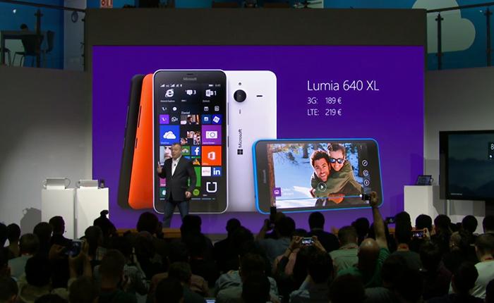 Microsoft ra mắt bộ đôi Lumia 640/640 XL: Cố bám trụ phân khúc tầm trung