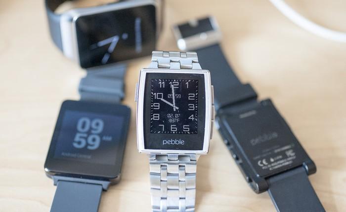 Smartwatch Pebble sẽ có màn hình màu, chạy nền tảng mới?