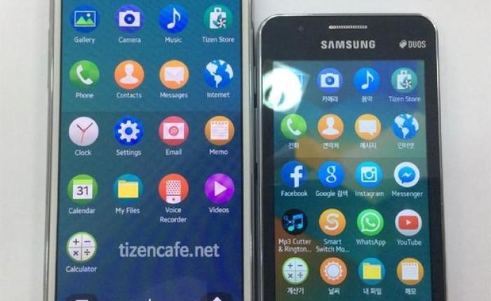 Lộ ảnh thực tế mẫu smartphone chạy Tizen OS thế hệ thứ 2 của Samsung