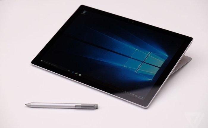4 đối thủ xứng tầm của tablet Microsoft Surface Pro 4