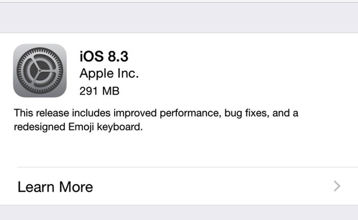 """iOS 8.3 tiếp tục khiến người dùng ức chế với những lỗi """"từ muôn năm cũ"""" !"""
