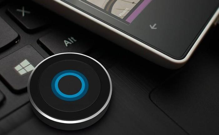 Nút bấm Cortana rời cho Windows 10 có giá 30 USD