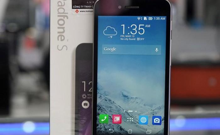 Mở hộp Asus PadFone S, smartphone cấu hình cao giá tốt
