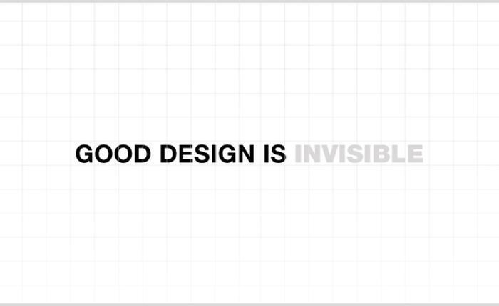 Bạn có biết về trải nghiệm người dùng vô hình?