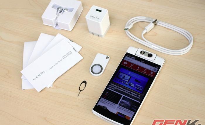 Mở hộp Oppo N3 vừa bán ra tại Việt Nam