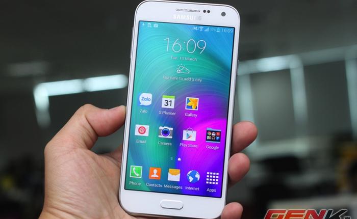 Cận cảnh Galaxy E5 tại Việt Nam