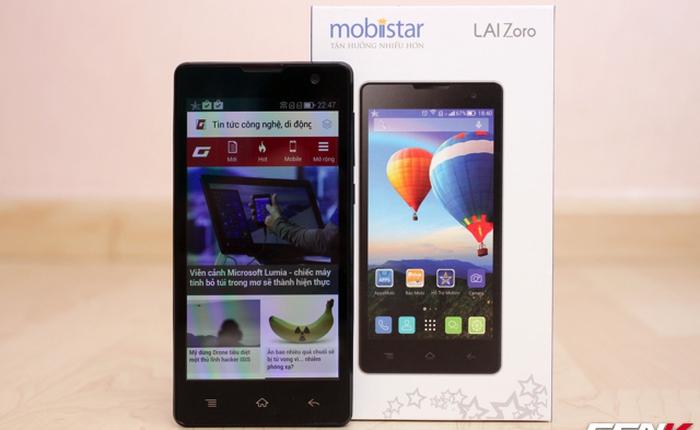 Mở hộp Lai Zoro và Lai Zena - smartphone 5 inch giá dưới 2,1 triệu đồng