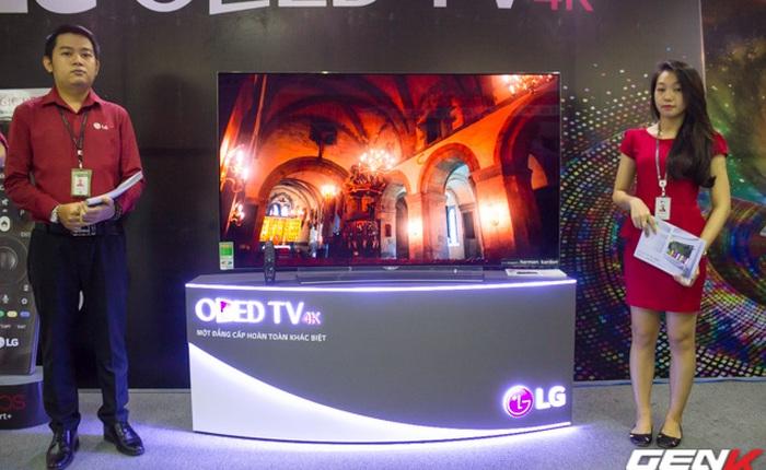 LG Electronics giới thiệu 2 sản phẩm TV OLED 4K siêu mỏng đến thị trường Việt Nam