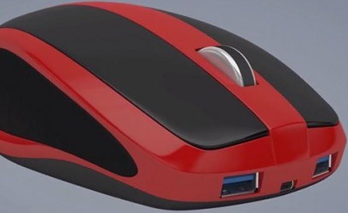 Mouse-Box - chú chuột máy tính tích hợp PC siêu nhỏ