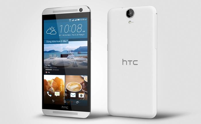 HTC One E9 dual – Tốt gỗ, tốt cả nước sơn