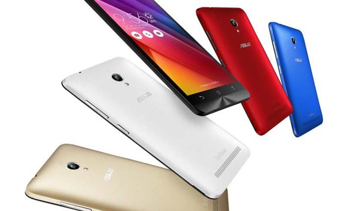 Ra mắt ZenFone Go 2016: màn 4 inch, RAM 1 GB, thêm vỏ màu sắc, giá từ 1,9 triệu