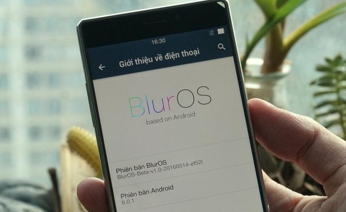 Đã có thể tải về bản BlurOS đầu tiên dành cho máy Vega IRON!