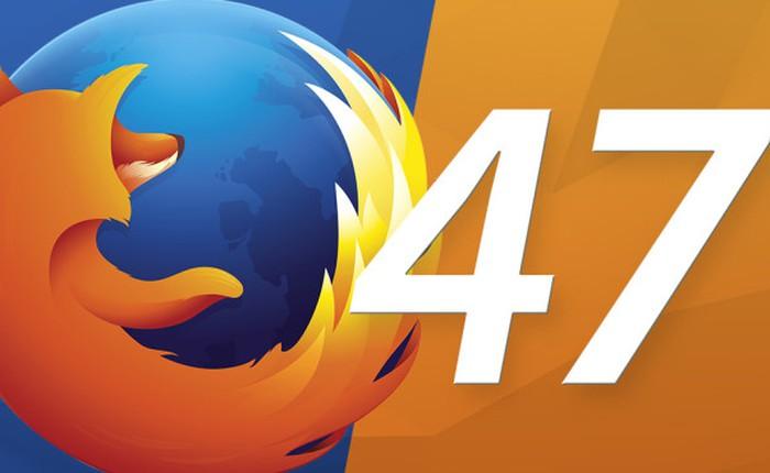 Firefox 47 mới nhất: đồng bộ tab đang mở trên cả PC và di động, chơi video HTML5 không cần Flash