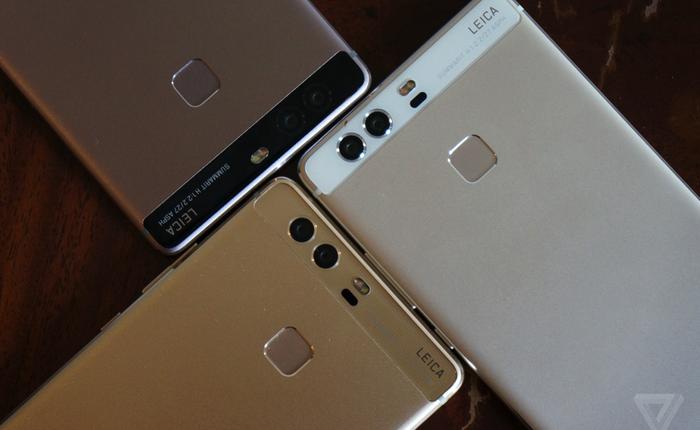 Chiêm ngưỡng siêu phẩm Huawei P9 camera kép: có vẻ giống Nexus 6P