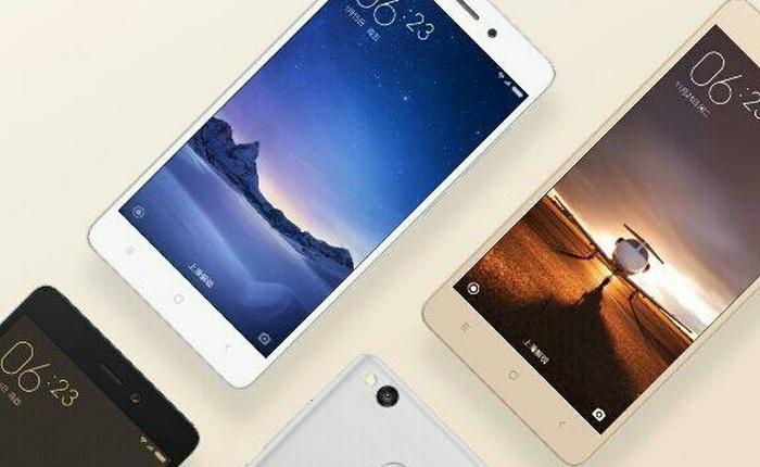 Xiaomi công bố Redmi 3S, bản nâng cấp đáng giá của smartphone tầm trung Redmi 3