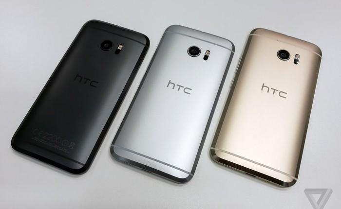 Cấu hình chi tiết, giá bán, ngày lên kệ của HTC 10