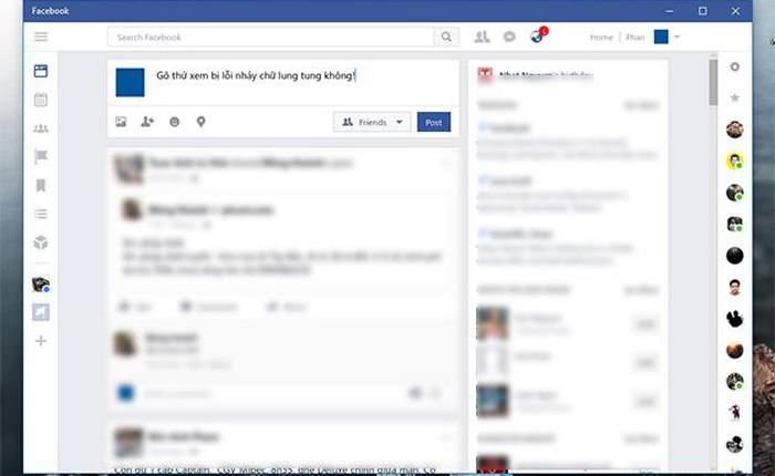 Đã có cách sửa lỗi gõ tiếng Việt trên app Facebook và Messenger cho Windows 10