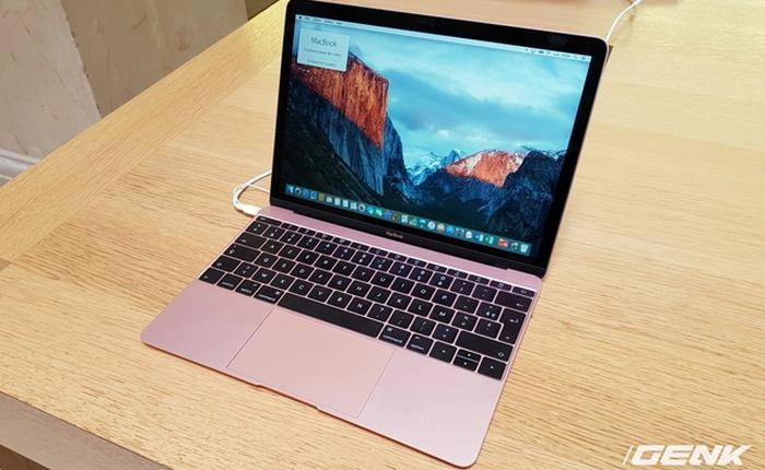 Soi kỹ chiếc MacBook vàng hồng đầu tiên của Apple khiến fan nữ khóc ròng