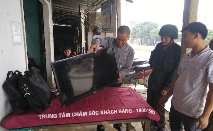 LG Việt Nam nhận sửa chữa miễn phí các đồ gia dụng hư hỏng cho người dân vùng lũ Quảng Bình và Hà Tĩnh