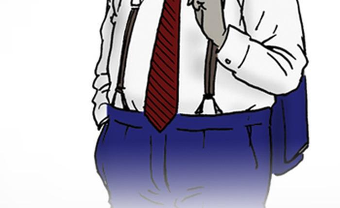 7 bí quyết mặc đẹp cho đàn ông béo bụng