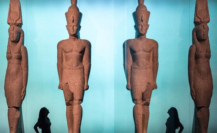"""Lần đầu tiên kho báu cổ vật Ai Cập chìm dưới đáy biển được """"phơi bày"""" trước công chúng"""