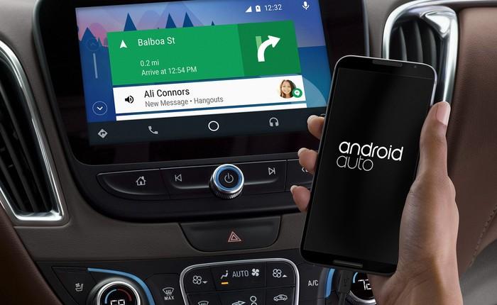 Google đang thể hiện tham vọng trong ngành công nghiệp xe hơi với Android Auto
