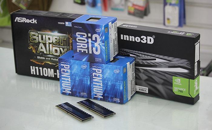 """H110 + Core i3 + DDR4: Quên card rời đi, thời của chơi game bằng """"onboard"""" đã đến!"""