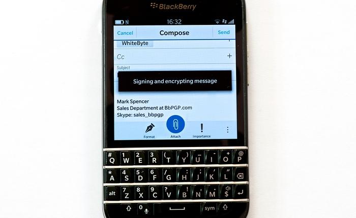 Cảnh sát Hà Lan tuyên bố đã bẻ khóa thành công giao thức bảo mật nổi tiếng trên BlackBerry