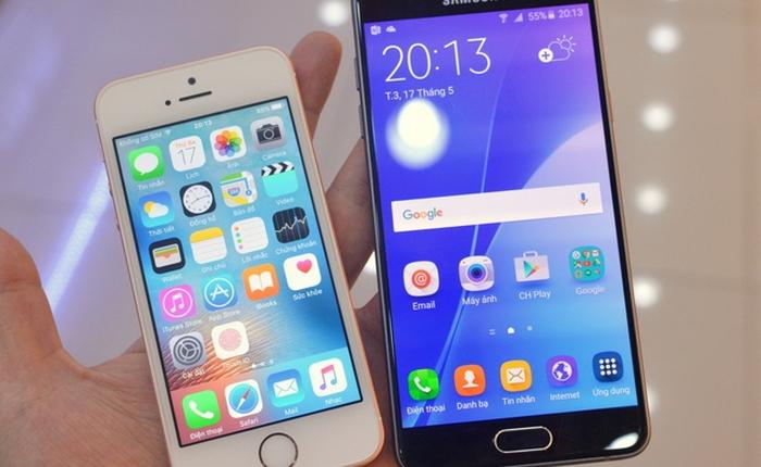 Ở bên kia chiến tuyến, đối thủ của iPhone SE rẻ hơn gần 3 triệu đồng