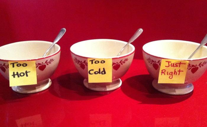 Goldilocks – Phương pháp tạo động lực giúp bạn chinh phục mọi mục tiêu kể cả khi chán nản nhất
