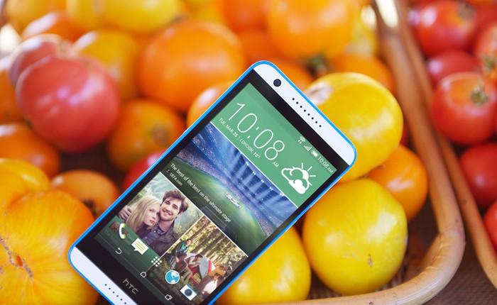 HTC ra mắt Desire 820G+ Dual SIM tại Việt Nam: màn hình 5,5 inch HD, chơi nhạc tốt, giá gần 4 triệu đồng