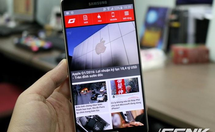Galaxy A9 2 SIM đầu tiên tại Việt Nam: màn 6 inch, dáng đẹp, pin 4.000 mAh