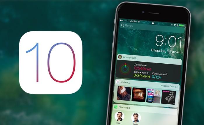 Với iOS 10, chỉ trong một ngày Apple đã đạt được thành tích mà Google trầy trật cả năm mới làm được
