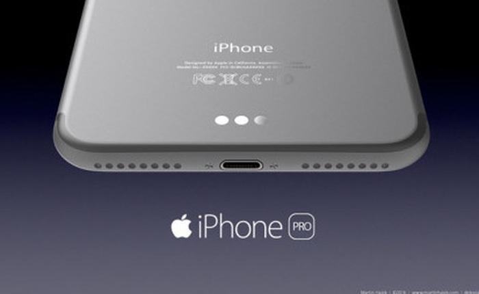 iPhone 7 sẽ được trang bị cổng kết nối mới ?